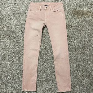 American Eagle Light Pink Jeans